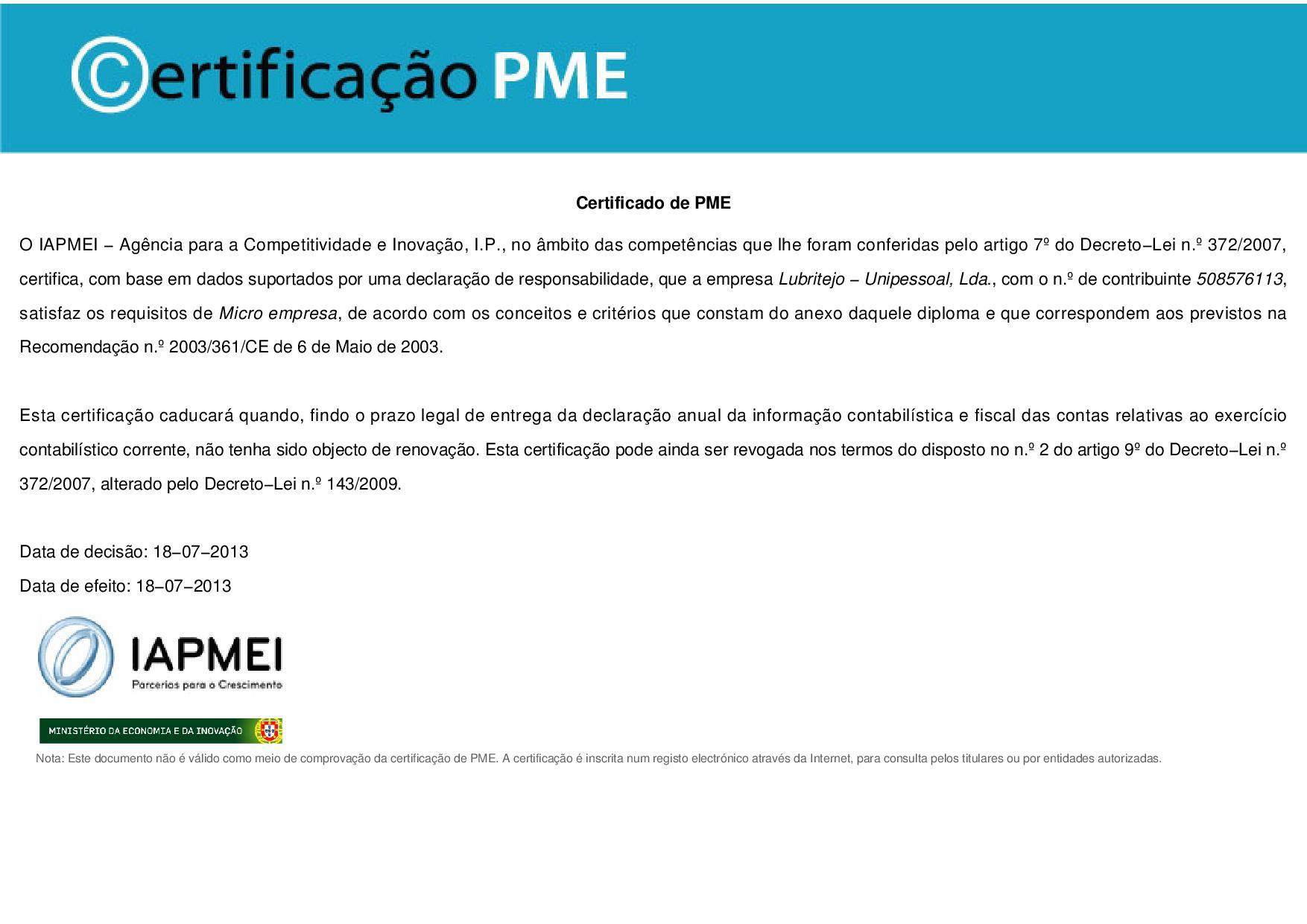 lubritejo_certificado_IAPMEI_2013-page-001
